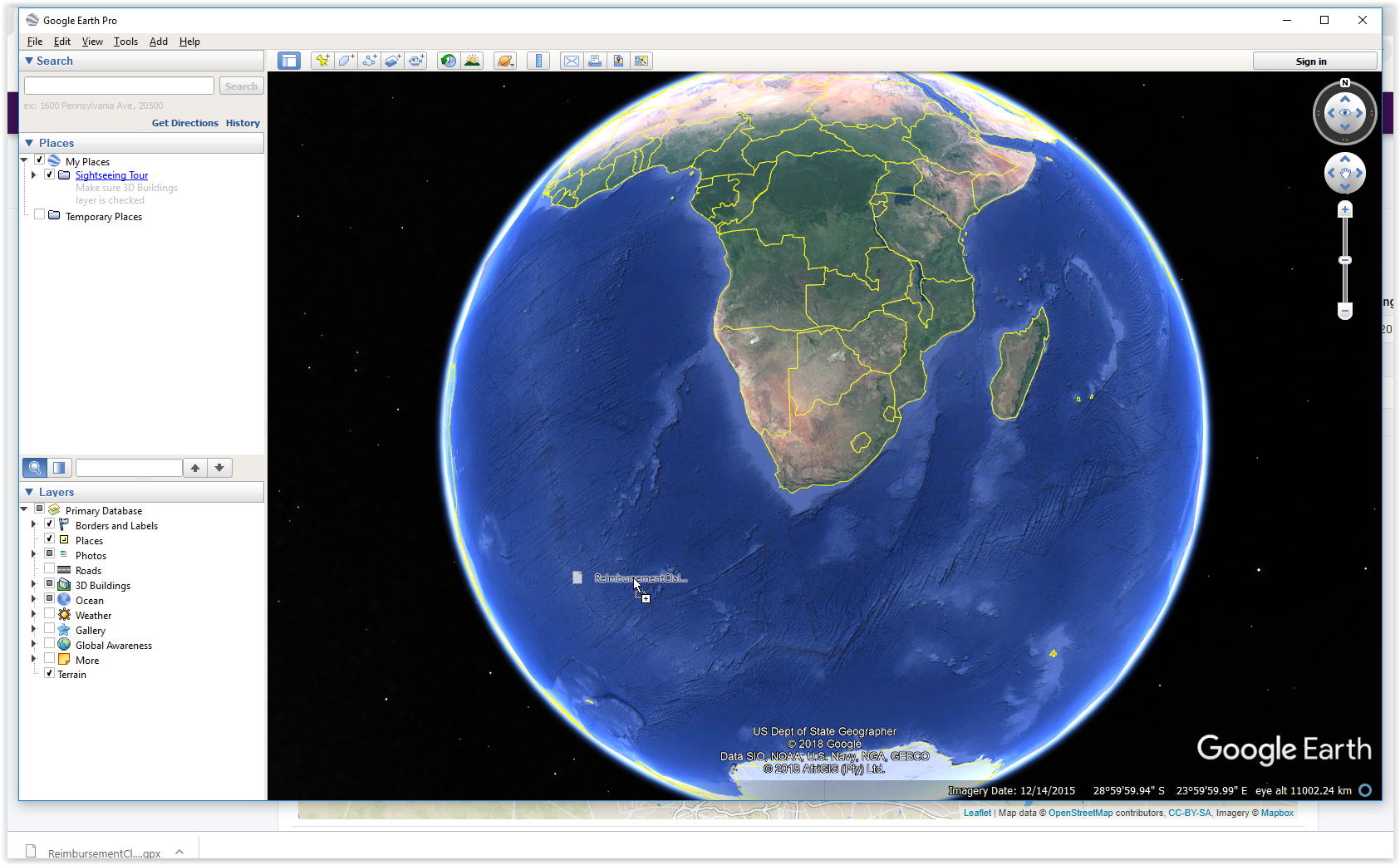How to view my reimbursement claims in Google Earth – Skynamo